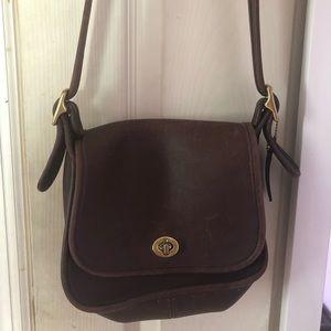 VINTAGE brown COACH satchel